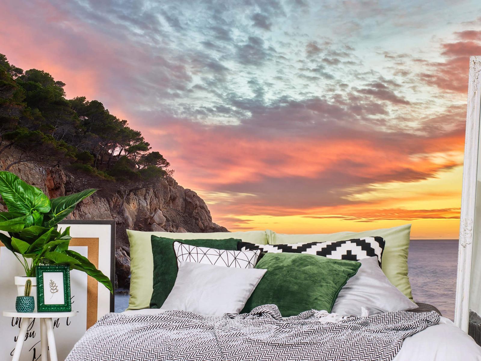 Zeeën en Oceanen - Kleurrijke zonsondergang - Slaapkamer 13