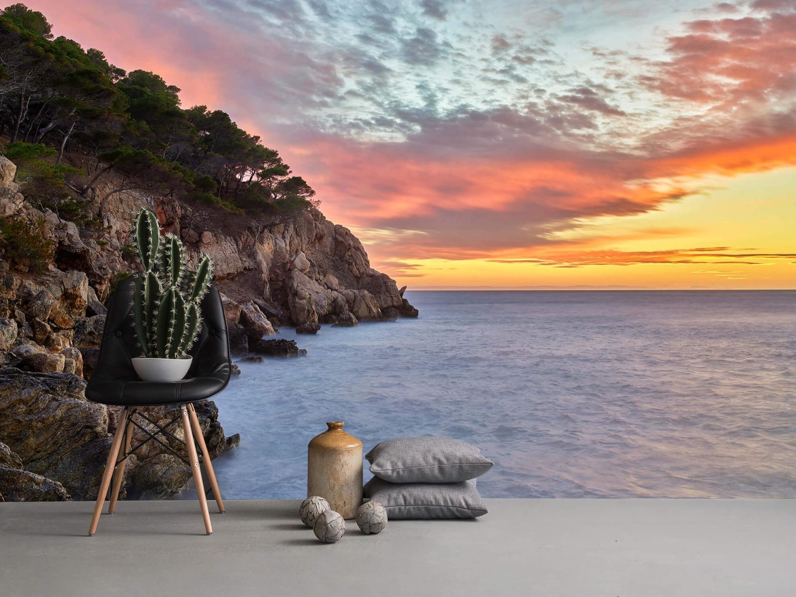 Zeeën en Oceanen - Kleurrijke zonsondergang - Slaapkamer 14