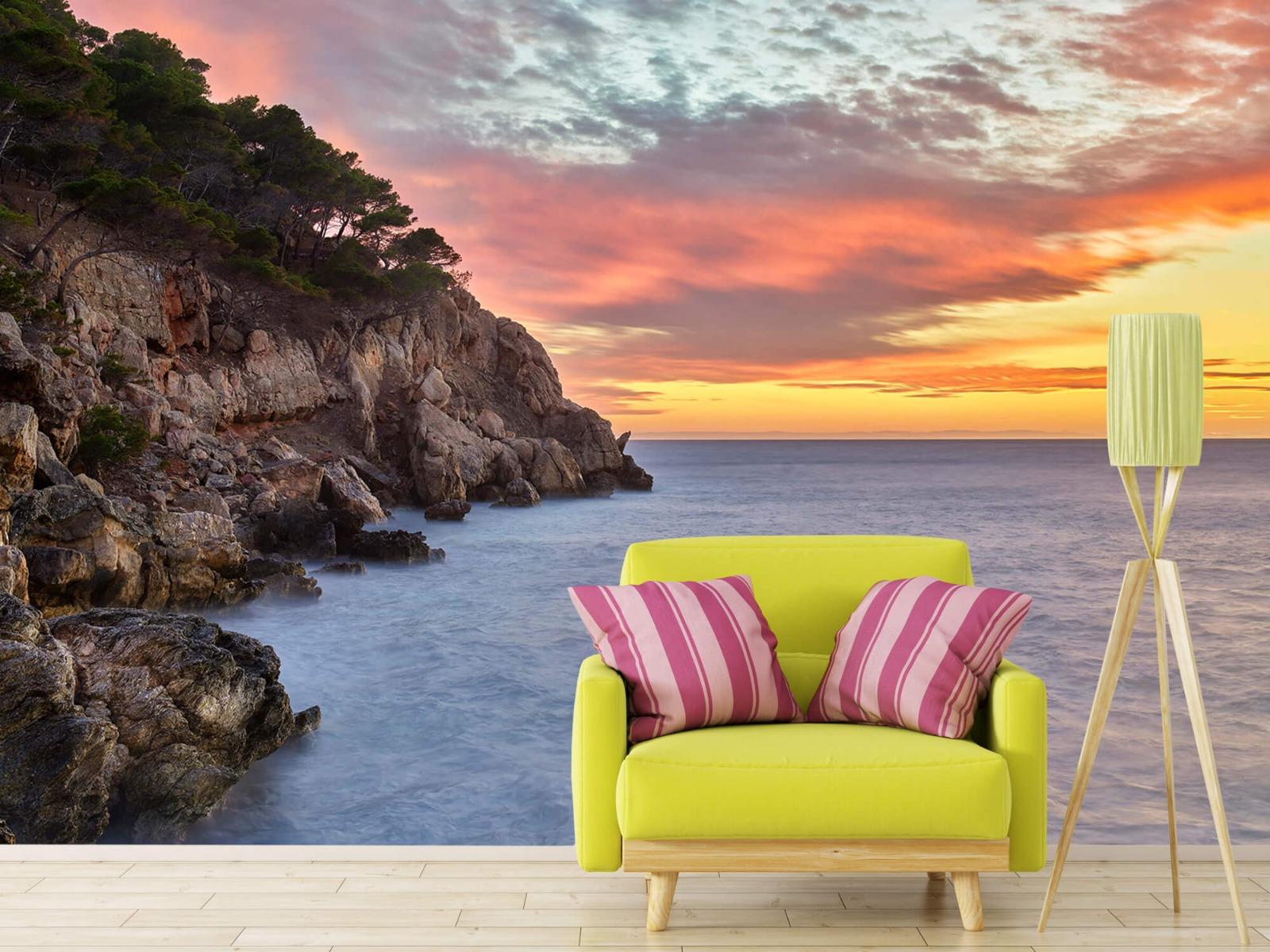 Zeeën en Oceanen - Kleurrijke zonsondergang - Slaapkamer 18