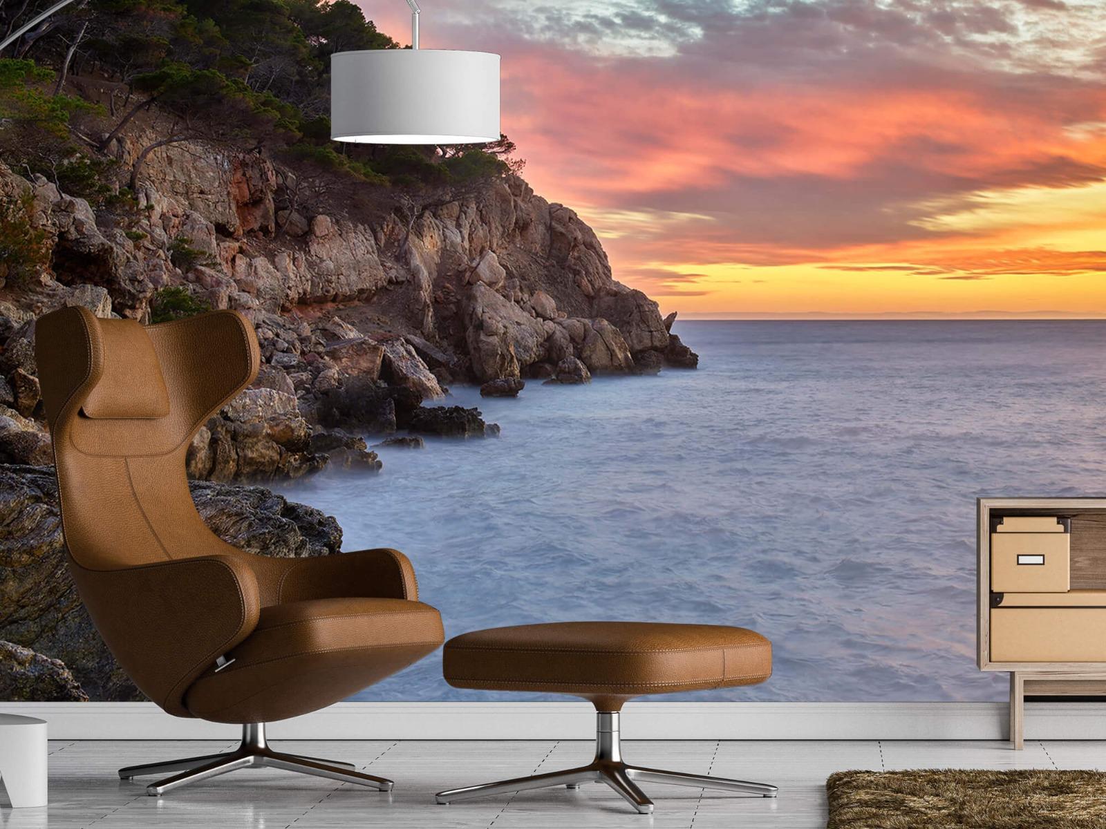 Zeeën en Oceanen - Kleurrijke zonsondergang - Slaapkamer 20