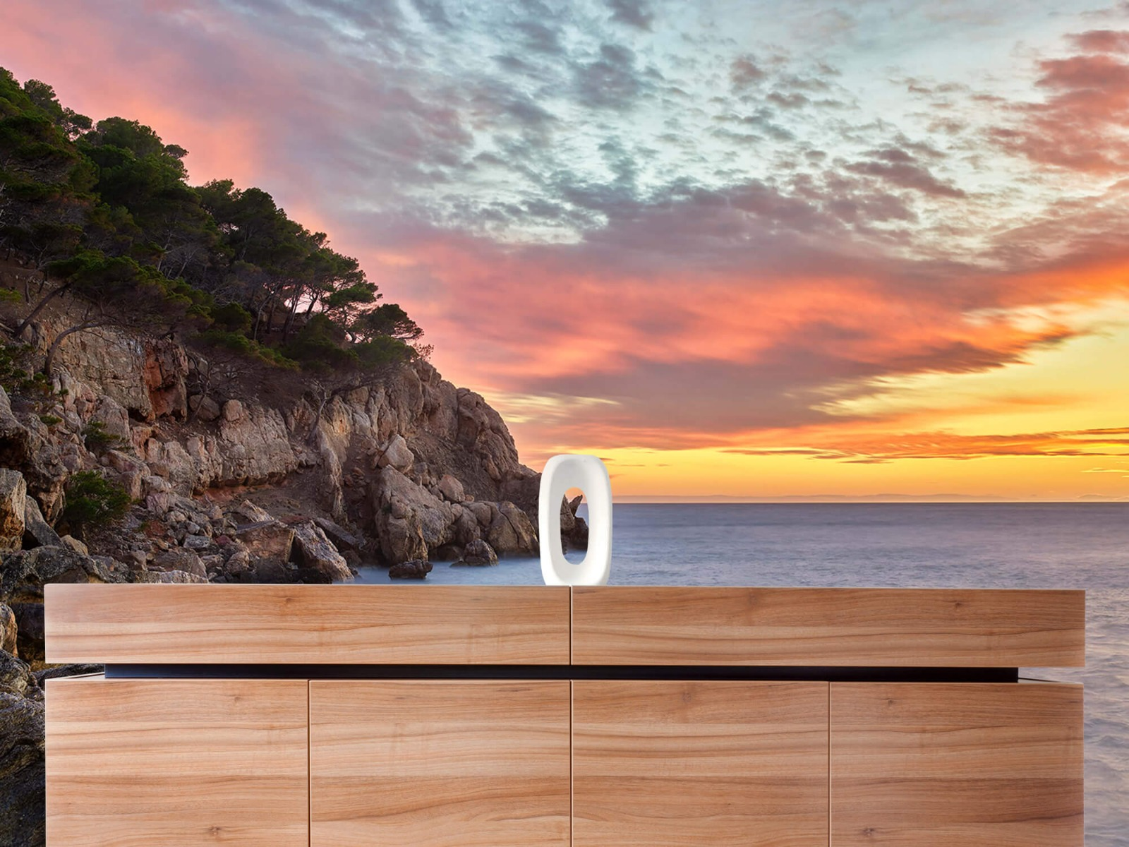 Zeeën en Oceanen - Kleurrijke zonsondergang - Slaapkamer 21