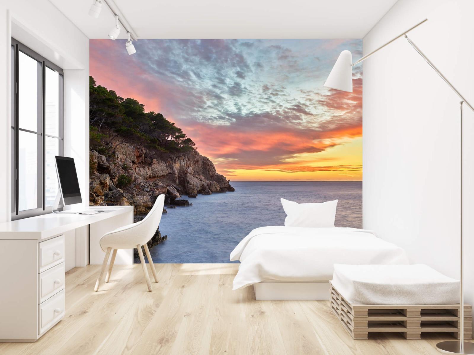 Zeeën en Oceanen - Kleurrijke zonsondergang - Slaapkamer 23