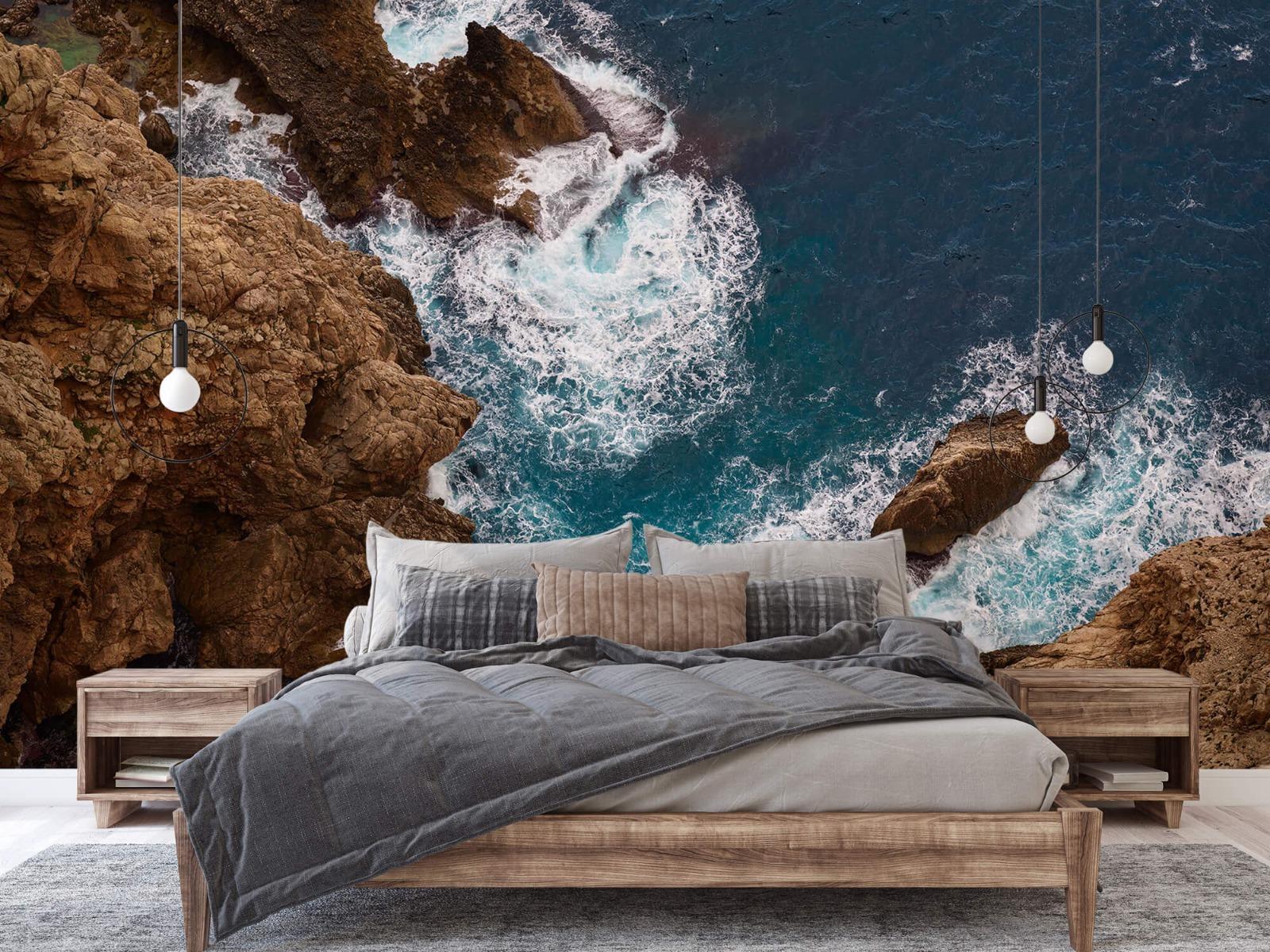 Zeeën en Oceanen - Kust rotsen - Slaapkamer 1
