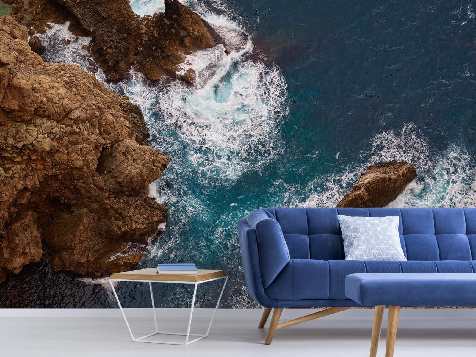 Zeeën en Oceanen - Kust rotsen - Slaapkamer 4