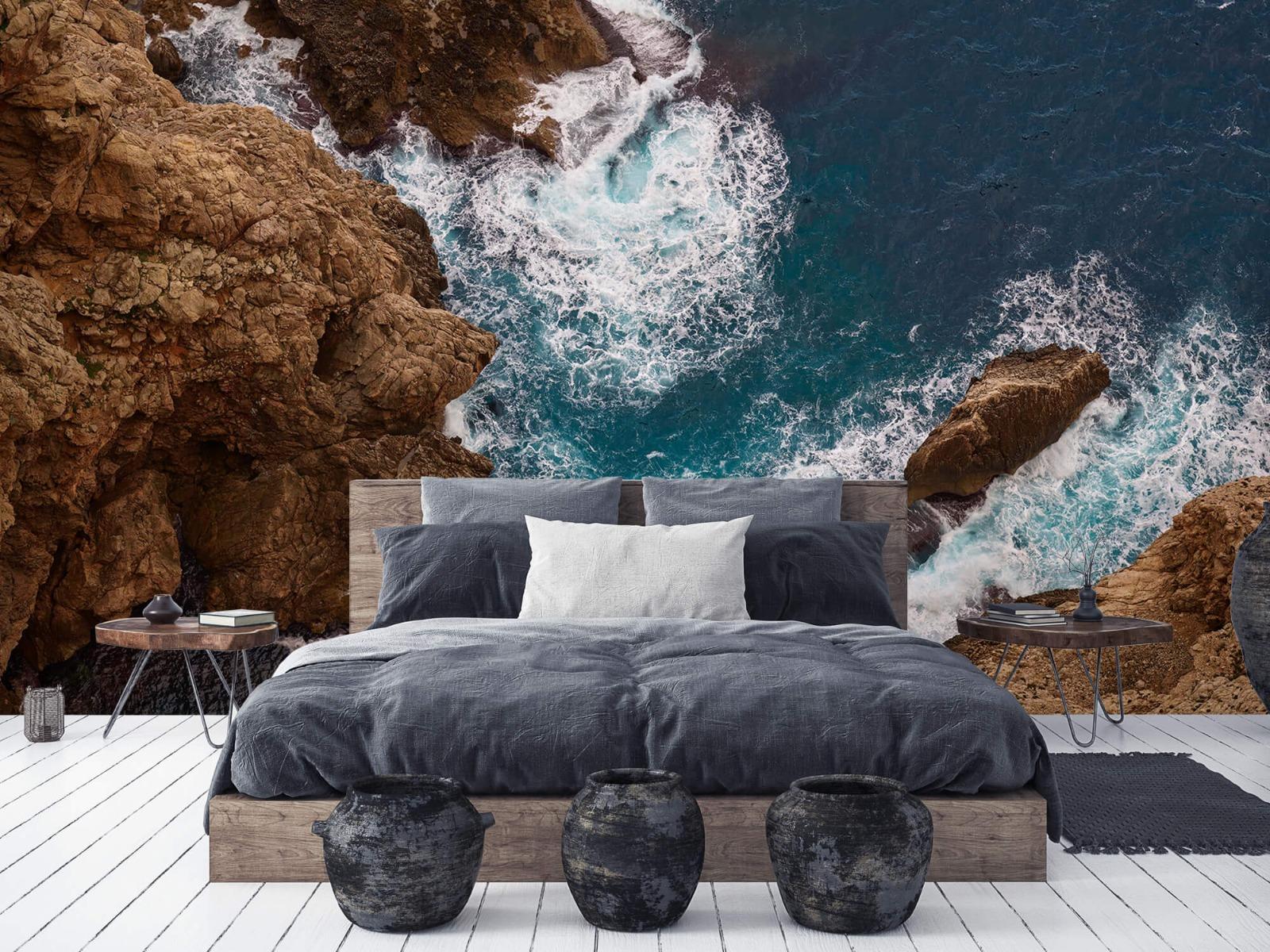 Zeeën en Oceanen - Kust rotsen - Slaapkamer 5