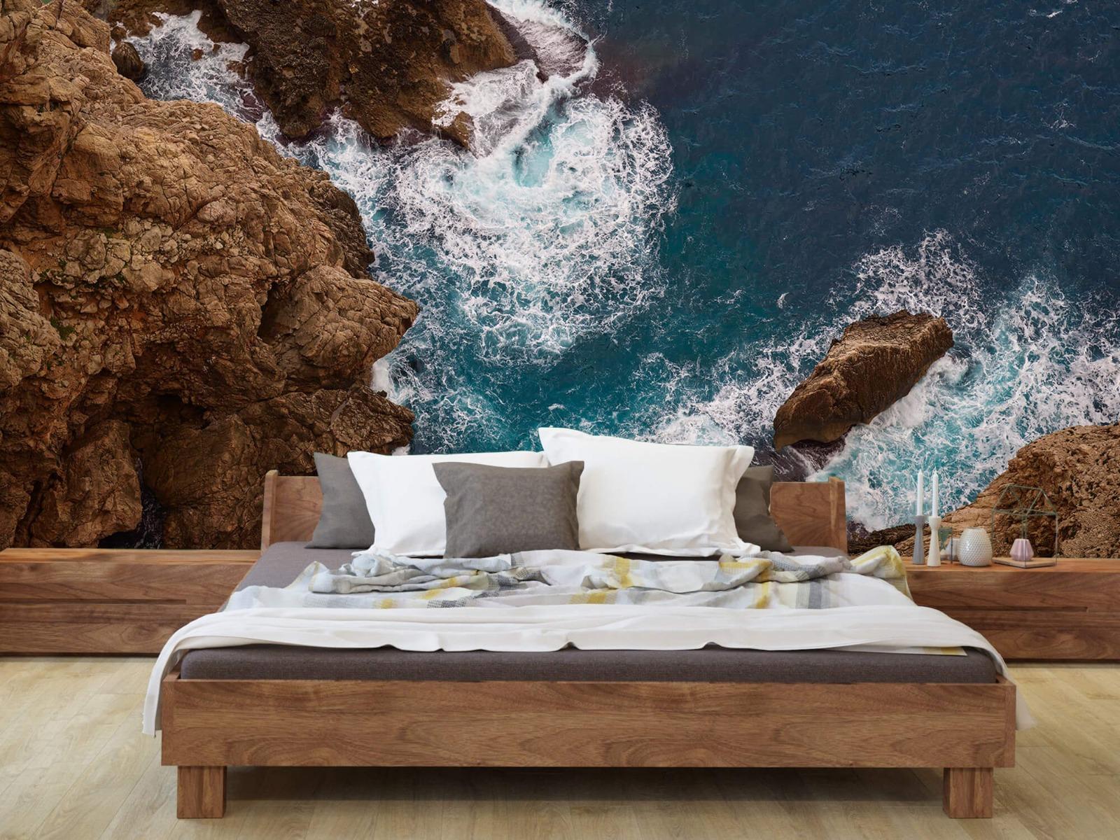 Zeeën en Oceanen - Kust rotsen - Slaapkamer 7
