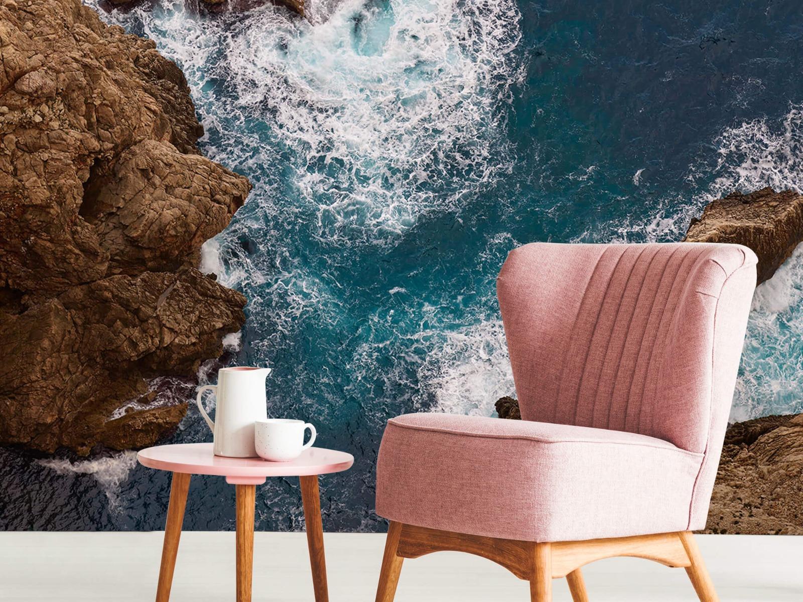 Zeeën en Oceanen - Kust rotsen - Slaapkamer 8