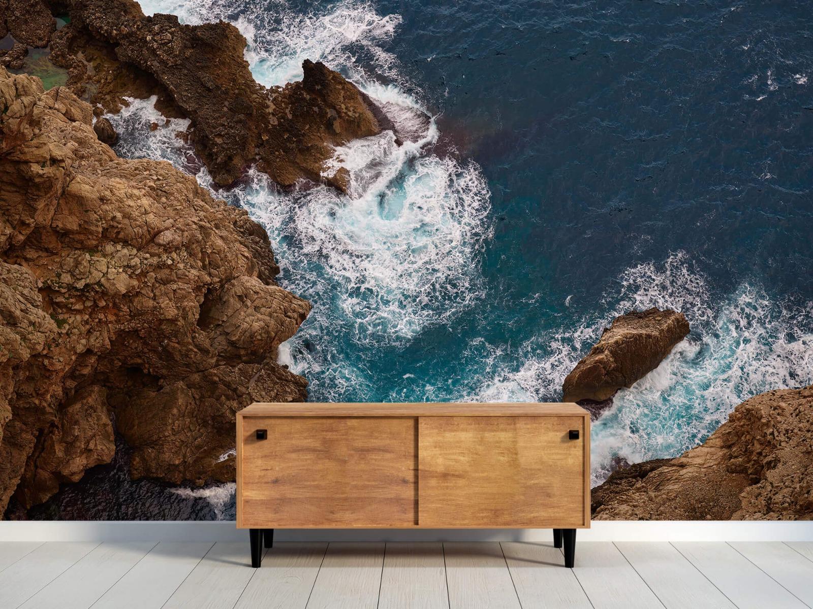 Zeeën en Oceanen - Kust rotsen - Slaapkamer 9