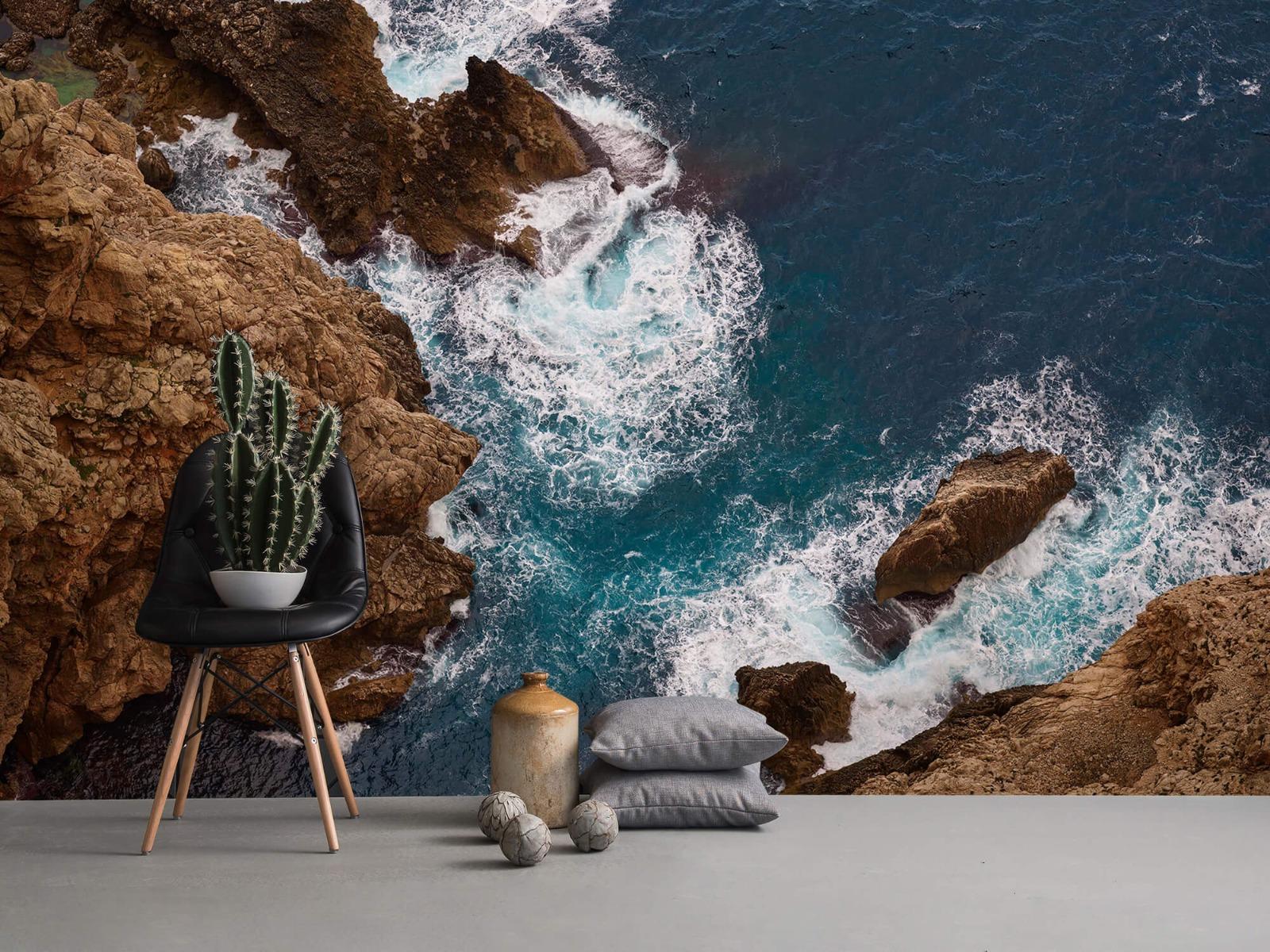 Zeeën en Oceanen - Kust rotsen - Slaapkamer 13