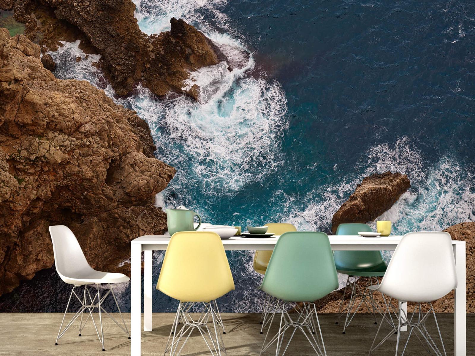 Zeeën en Oceanen - Kust rotsen - Slaapkamer 15