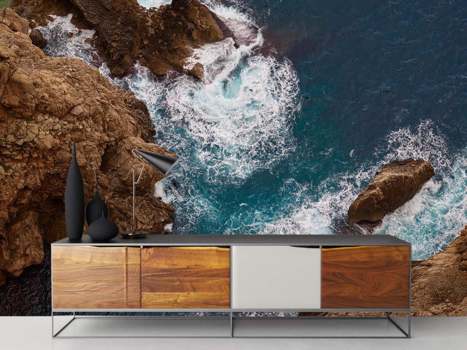Zeeën en Oceanen - Kust rotsen - Slaapkamer 16