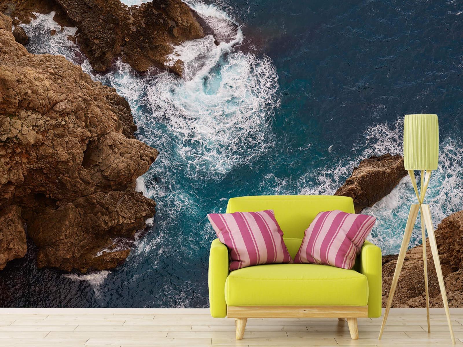 Zeeën en Oceanen - Kust rotsen - Slaapkamer 17