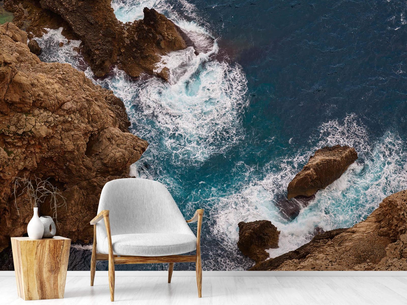 Zeeën en Oceanen - Kust rotsen - Slaapkamer 18