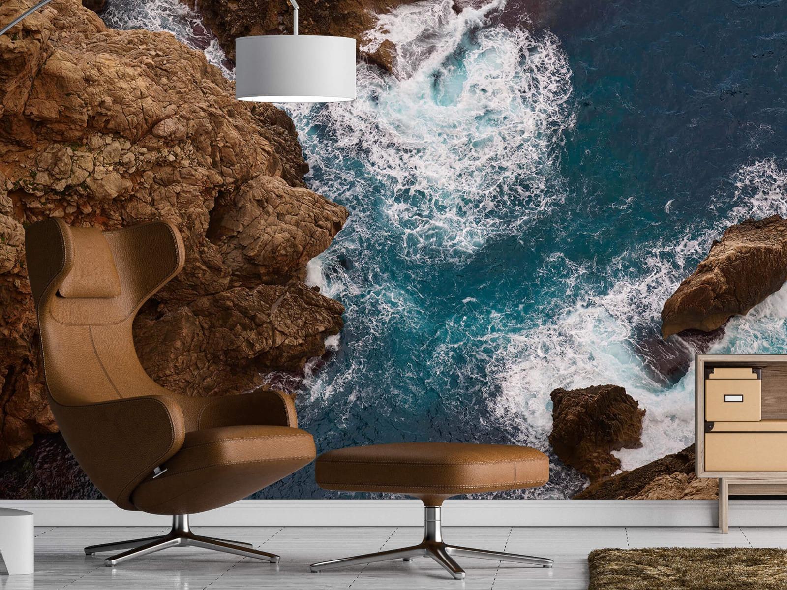 Zeeën en Oceanen - Kust rotsen - Slaapkamer 19