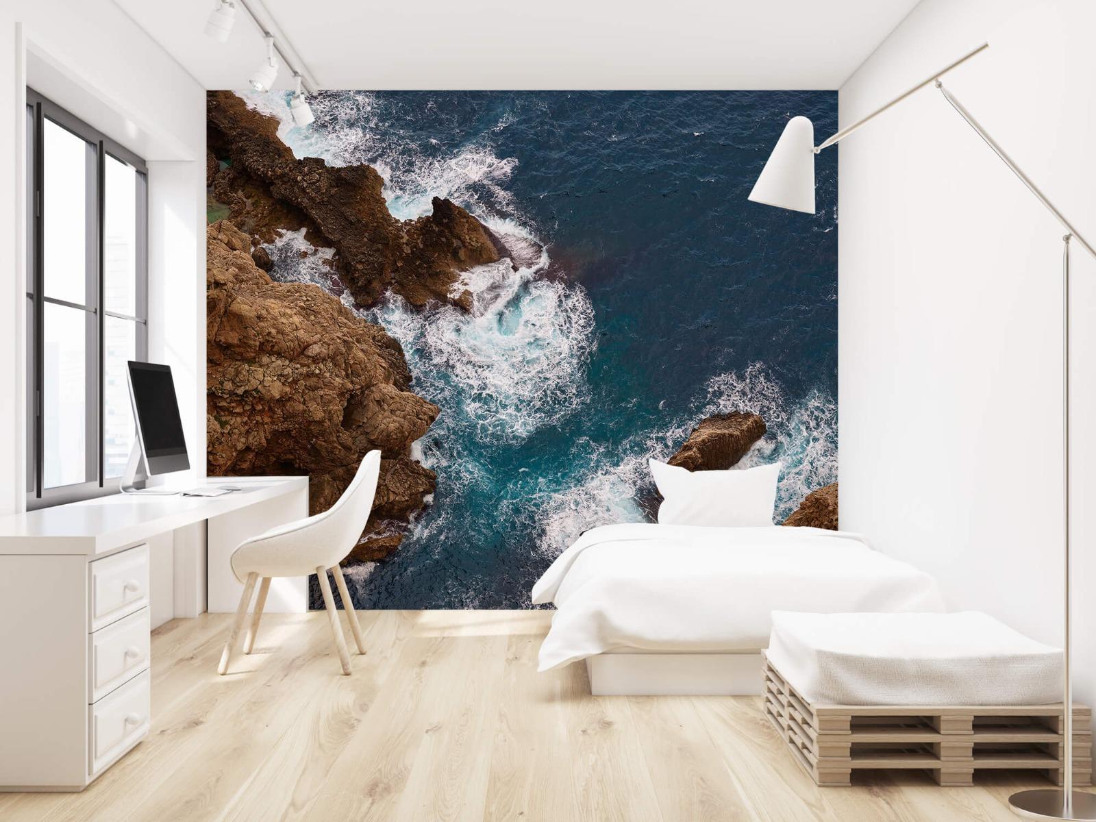 Zeeën en Oceanen - Kust rotsen - Slaapkamer 22