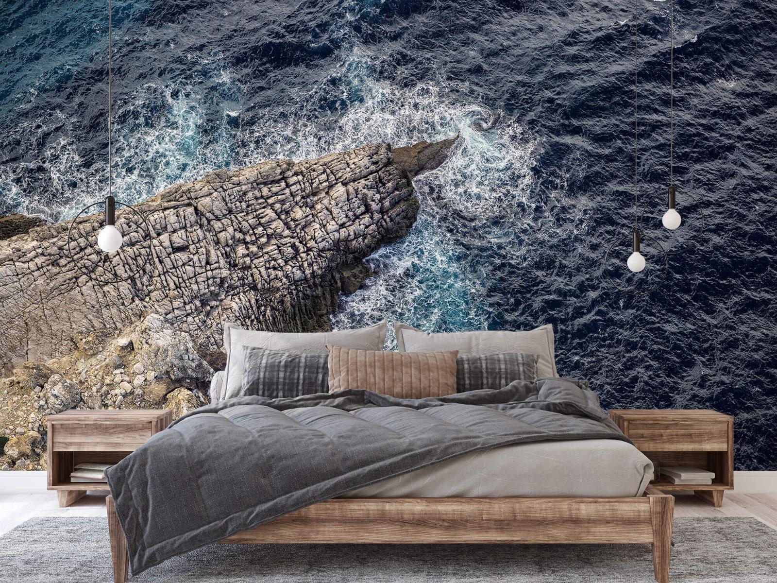 Zeeën en Oceanen - Rotspunt aan de kust - Slaapkamer 2