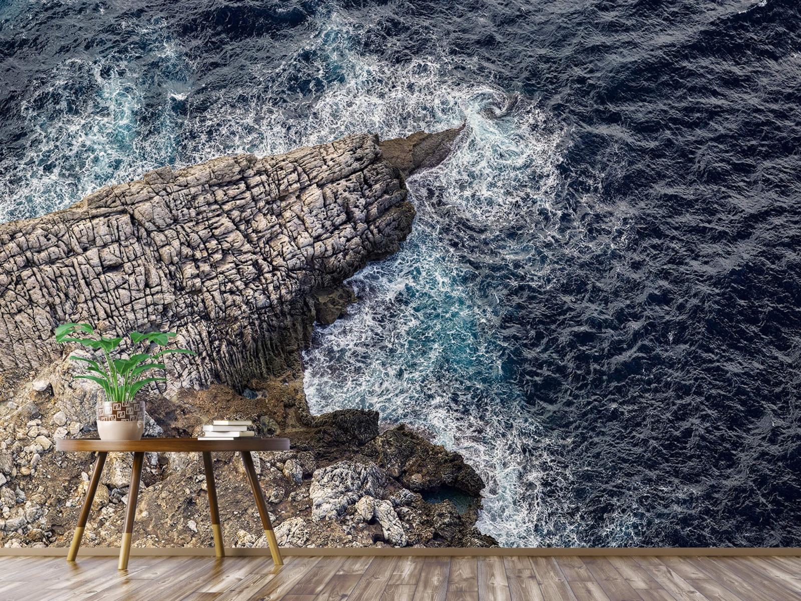 Zeeën en Oceanen - Rotspunt aan de kust - Slaapkamer 4