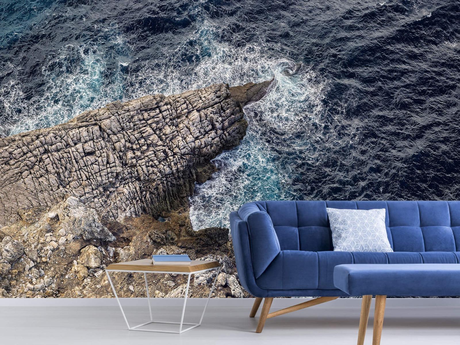 Zeeën en Oceanen - Rotspunt aan de kust - Slaapkamer 1