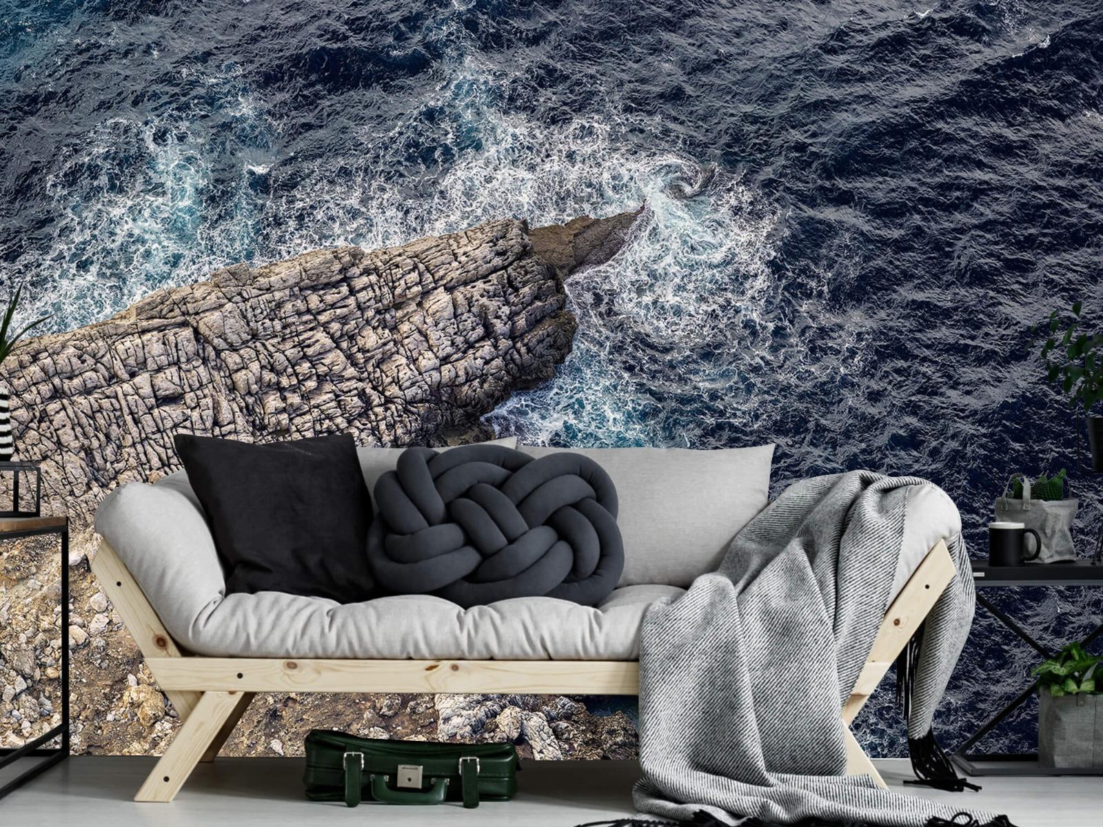 Zeeën en Oceanen - Rotspunt aan de kust - Slaapkamer 6