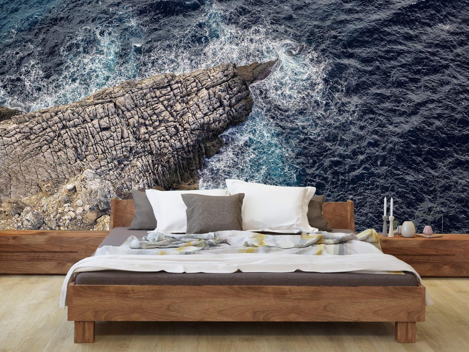 Zeeën en Oceanen - Rotspunt aan de kust - Slaapkamer 7