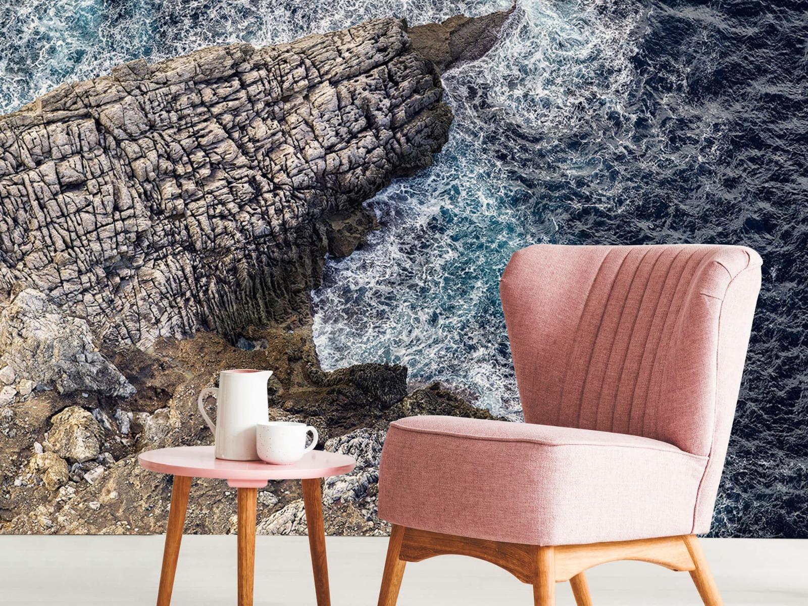 Zeeën en Oceanen - Rotspunt aan de kust - Slaapkamer 8
