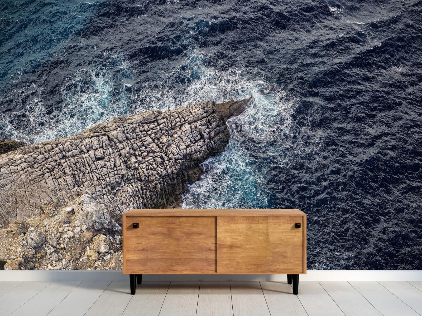 Zeeën en Oceanen - Rotspunt aan de kust - Slaapkamer 9