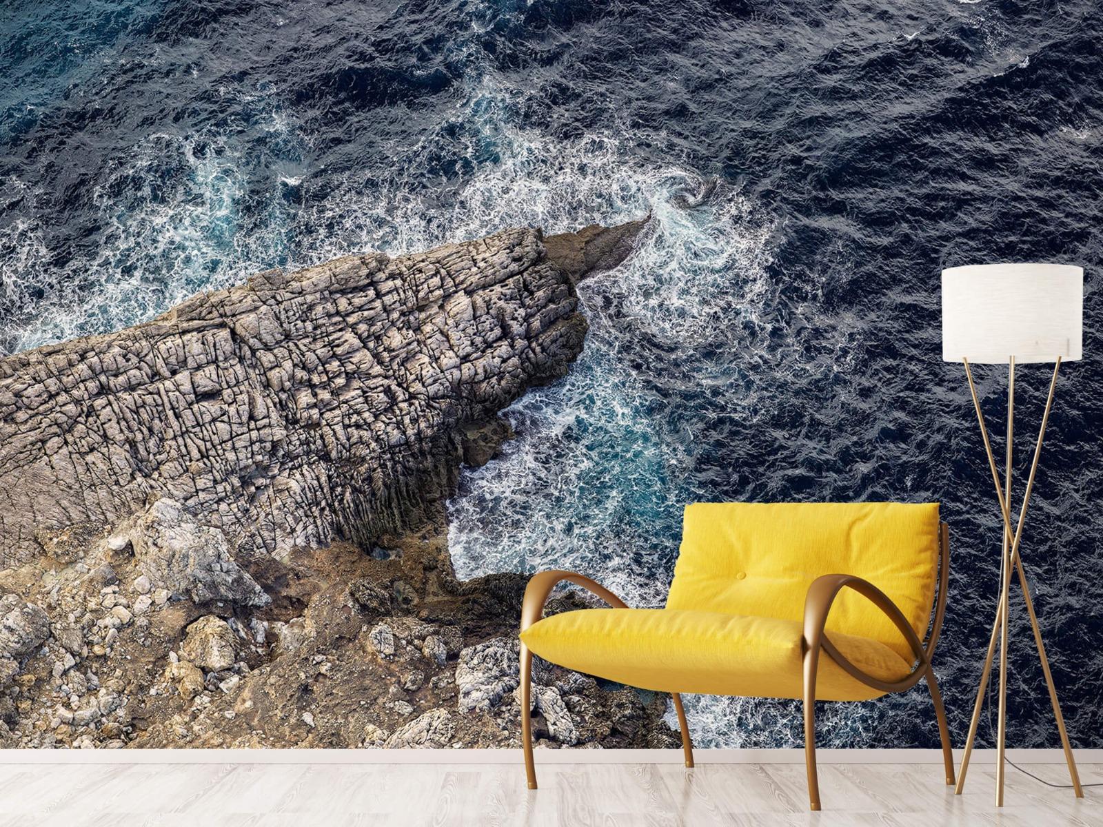 Zeeën en Oceanen - Rotspunt aan de kust - Slaapkamer 10