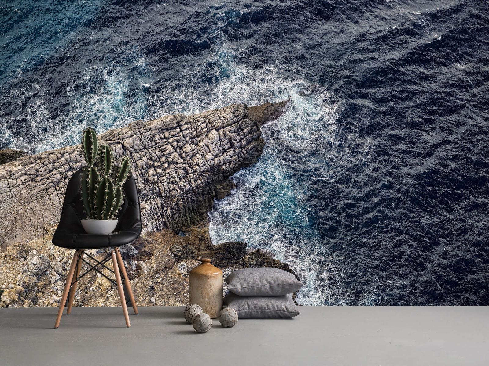 Zeeën en Oceanen - Rotspunt aan de kust - Slaapkamer 13