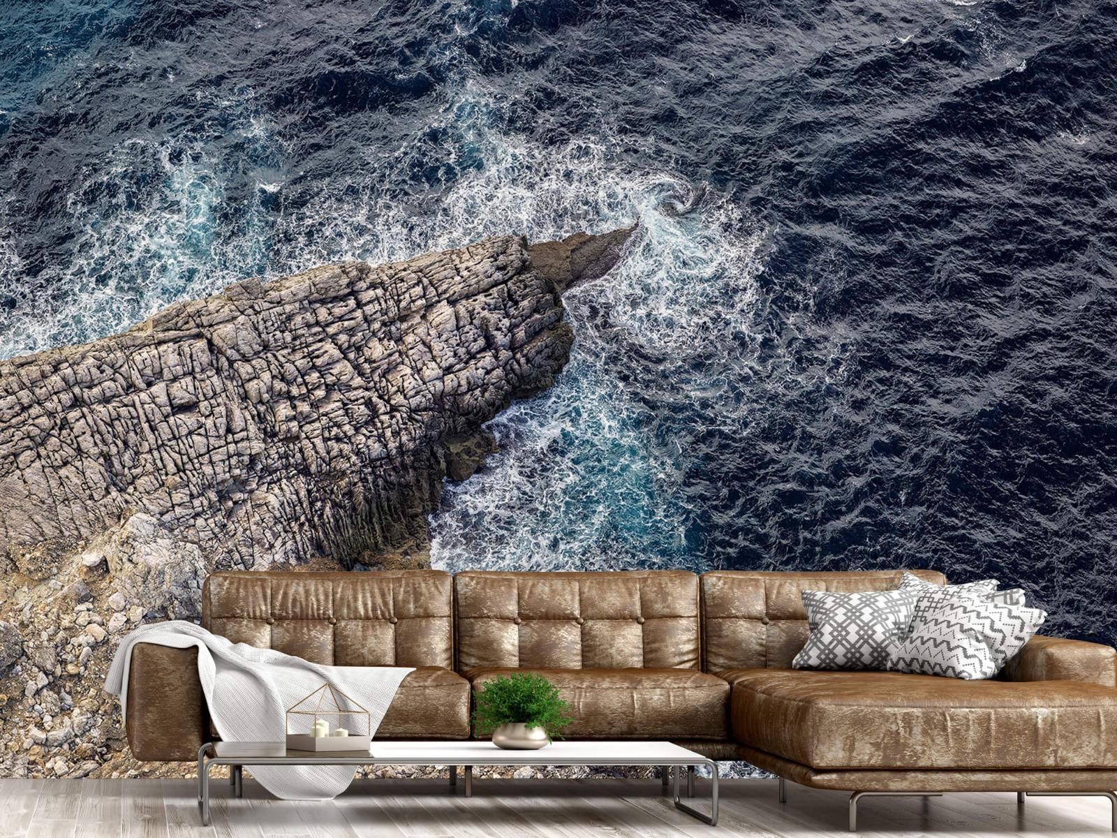 Zeeën en Oceanen - Rotspunt aan de kust - Slaapkamer 14