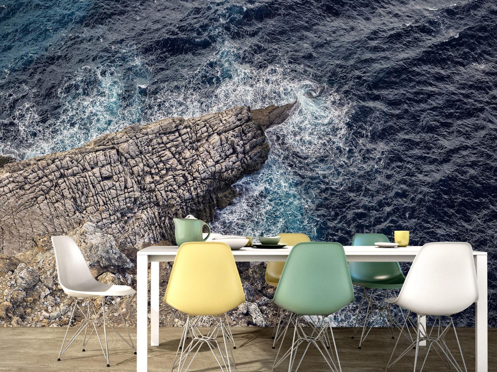 Zeeën en Oceanen - Rotspunt aan de kust - Slaapkamer 15