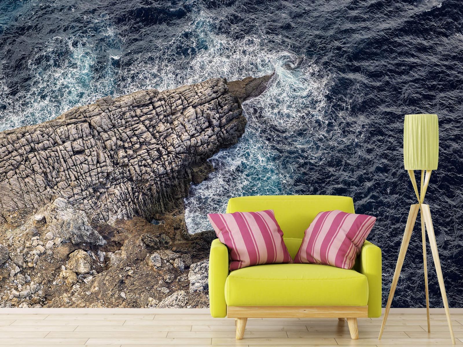 Zeeën en Oceanen - Rotspunt aan de kust - Slaapkamer 17