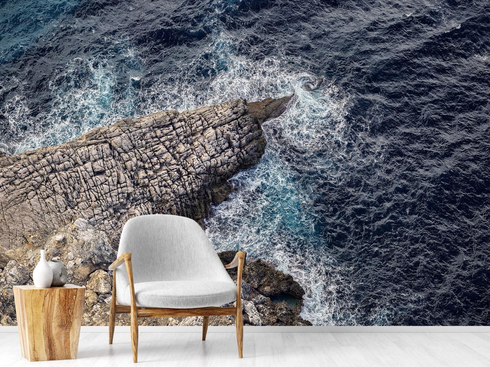 Zeeën en Oceanen - Rotspunt aan de kust - Slaapkamer 18
