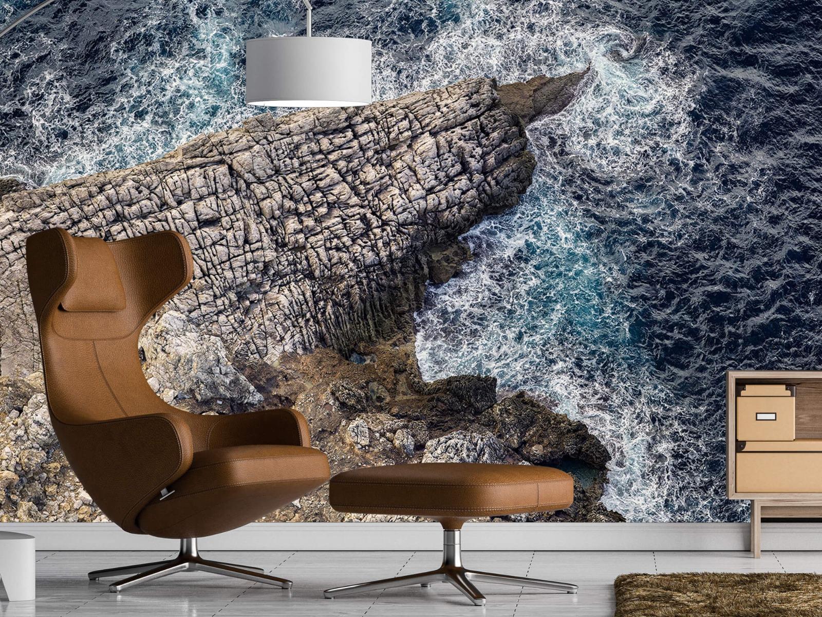 Zeeën en Oceanen - Rotspunt aan de kust - Slaapkamer 19