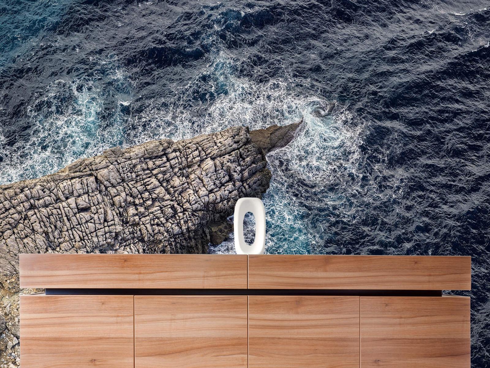 Zeeën en Oceanen - Rotspunt aan de kust - Slaapkamer 20