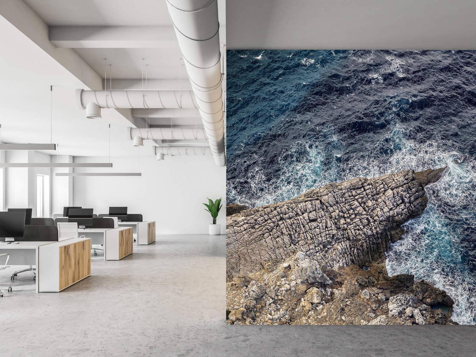 Zeeën en Oceanen - Rotspunt aan de kust - Slaapkamer 21