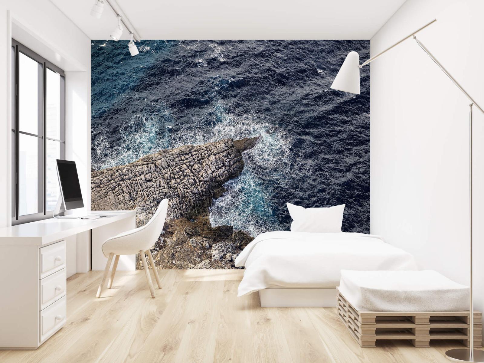 Zeeën en Oceanen - Rotspunt aan de kust - Slaapkamer 22