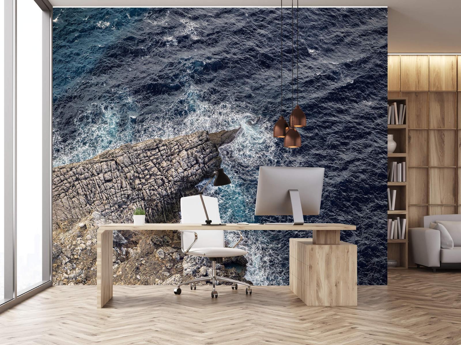 Zeeën en Oceanen - Rotspunt aan de kust - Slaapkamer 24