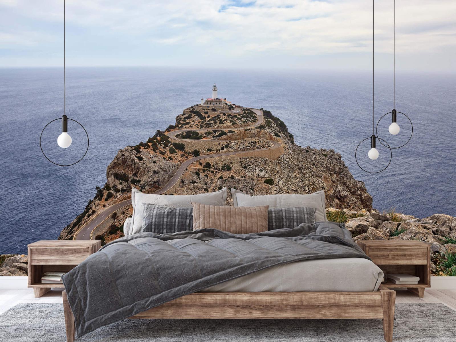 Landschap - Vuurtoren op een rots - Slaapkamer 2