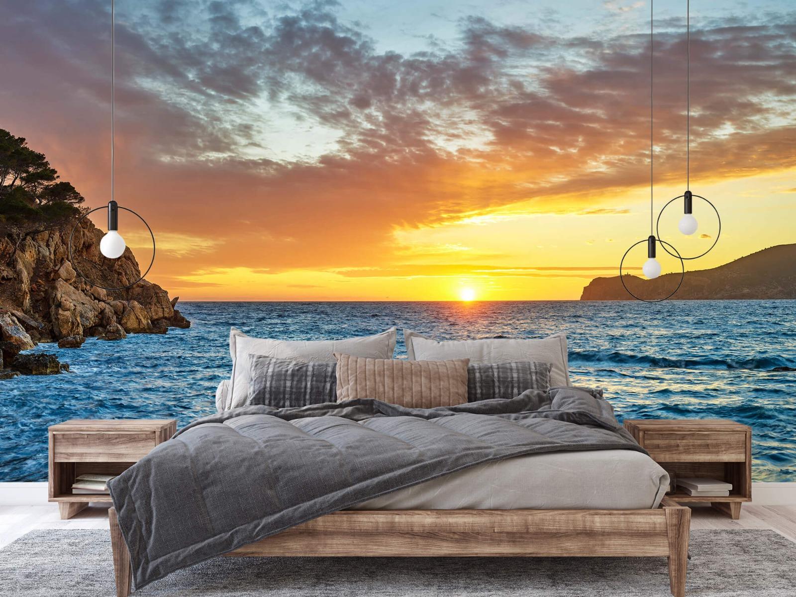 Zon - Zonsondergang op een eiland - Slaapkamer 2