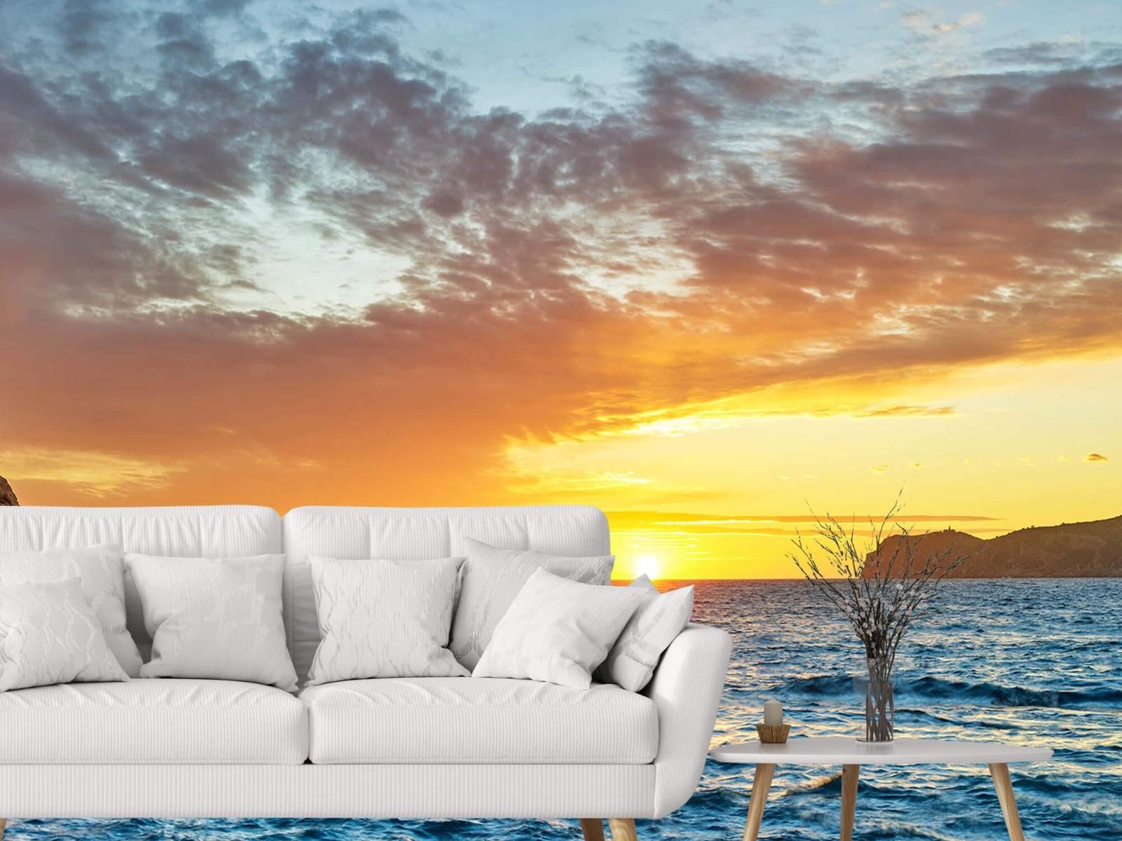Zon - Zonsondergang op een eiland - Slaapkamer 3