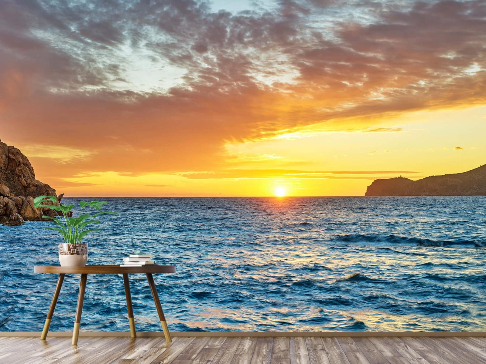 Zon - Zonsondergang op een eiland - Slaapkamer 4