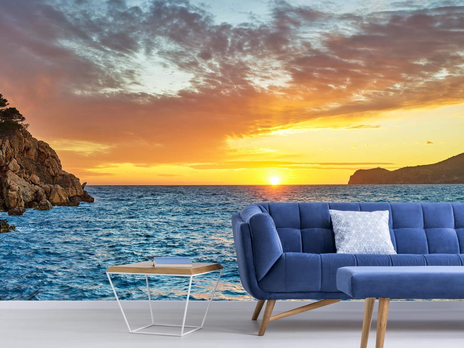 Zon - Zonsondergang op een eiland - Slaapkamer 5
