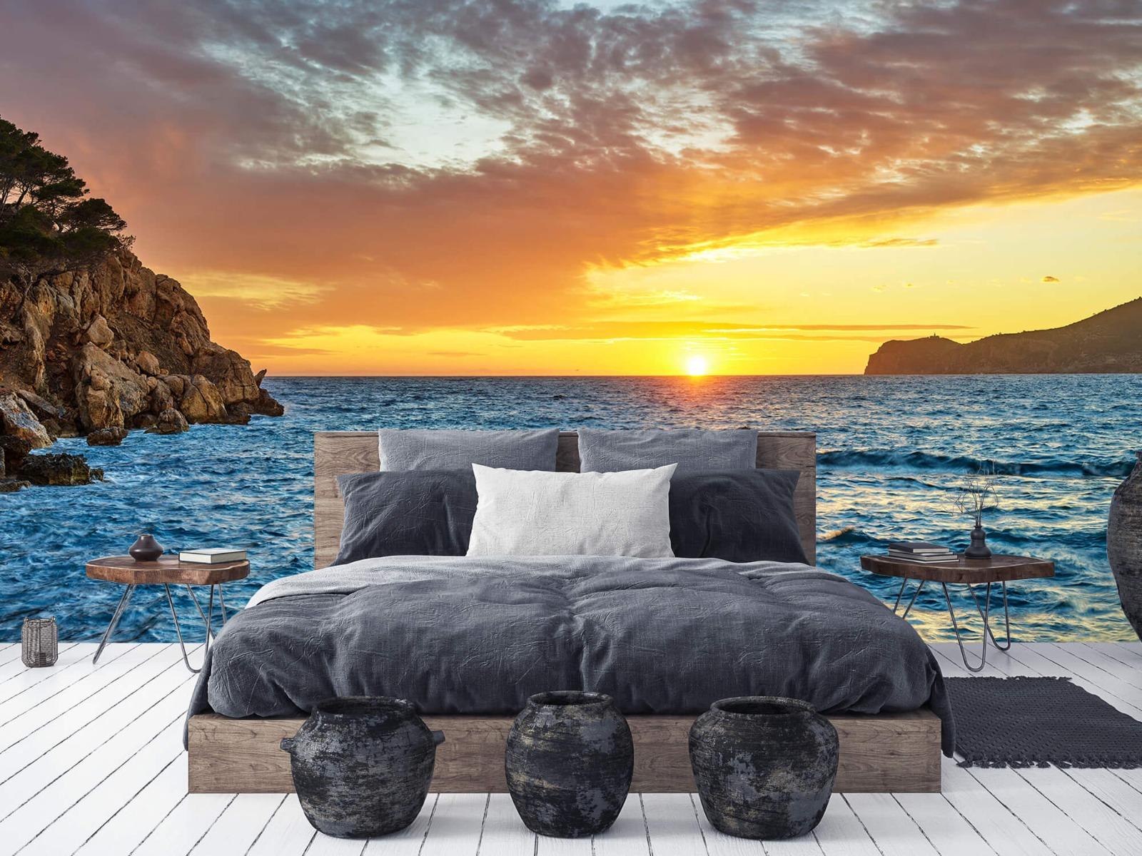 Zon - Zonsondergang op een eiland - Slaapkamer 6
