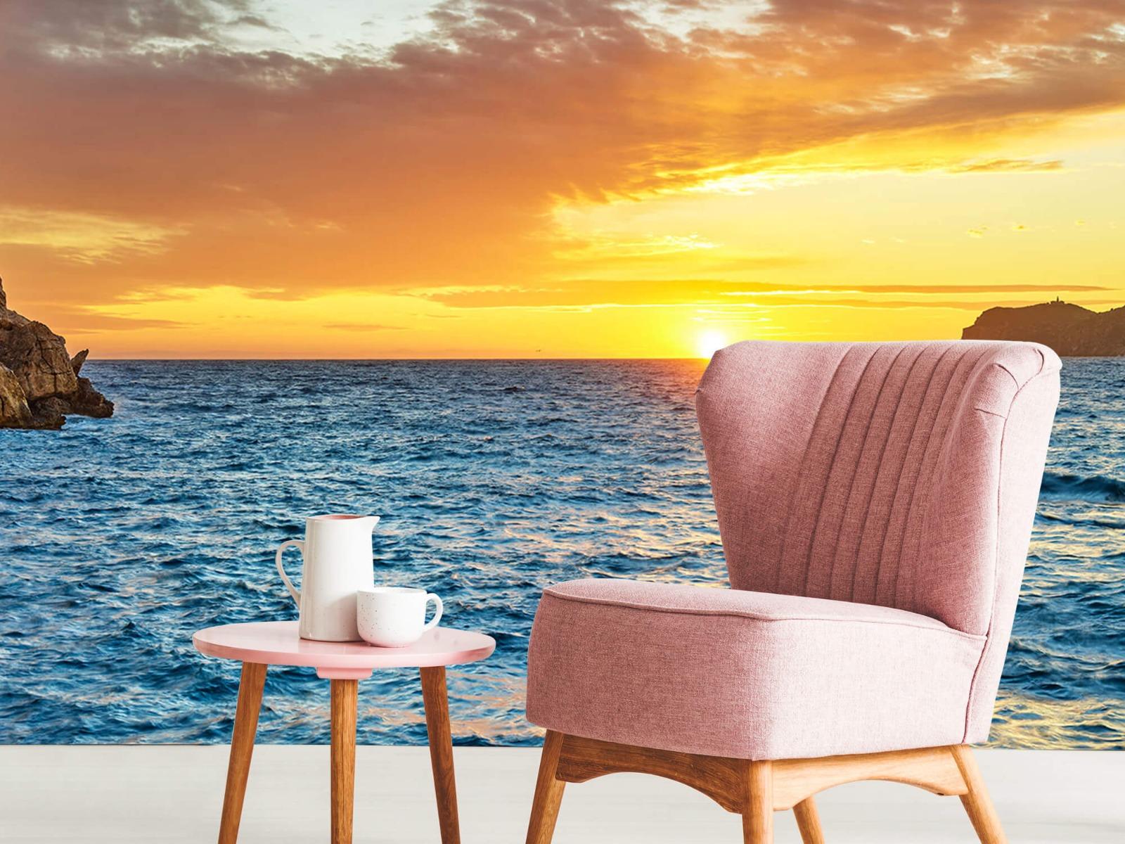Zon - Zonsondergang op een eiland - Slaapkamer 9