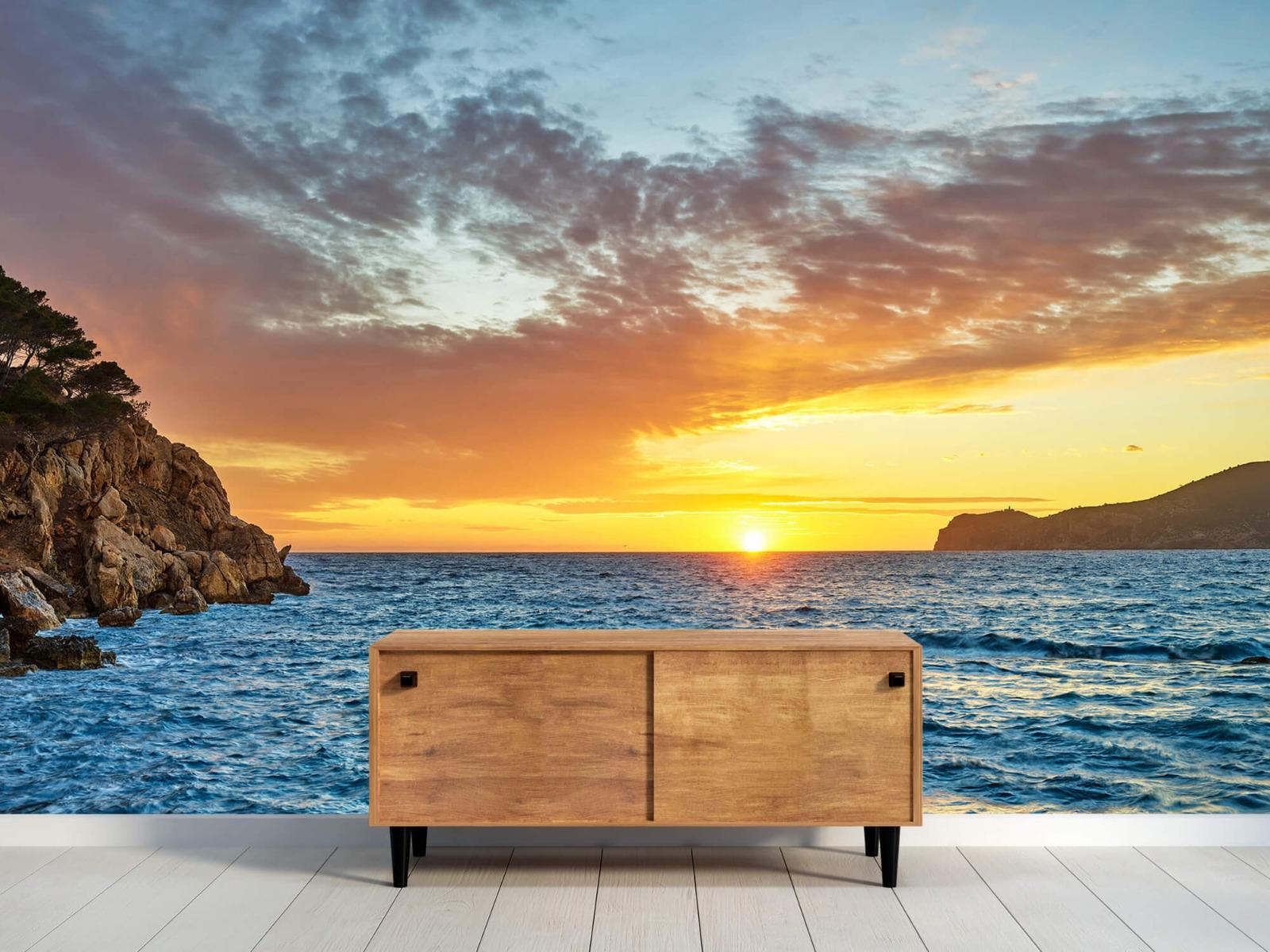 Zon - Zonsondergang op een eiland - Slaapkamer 1