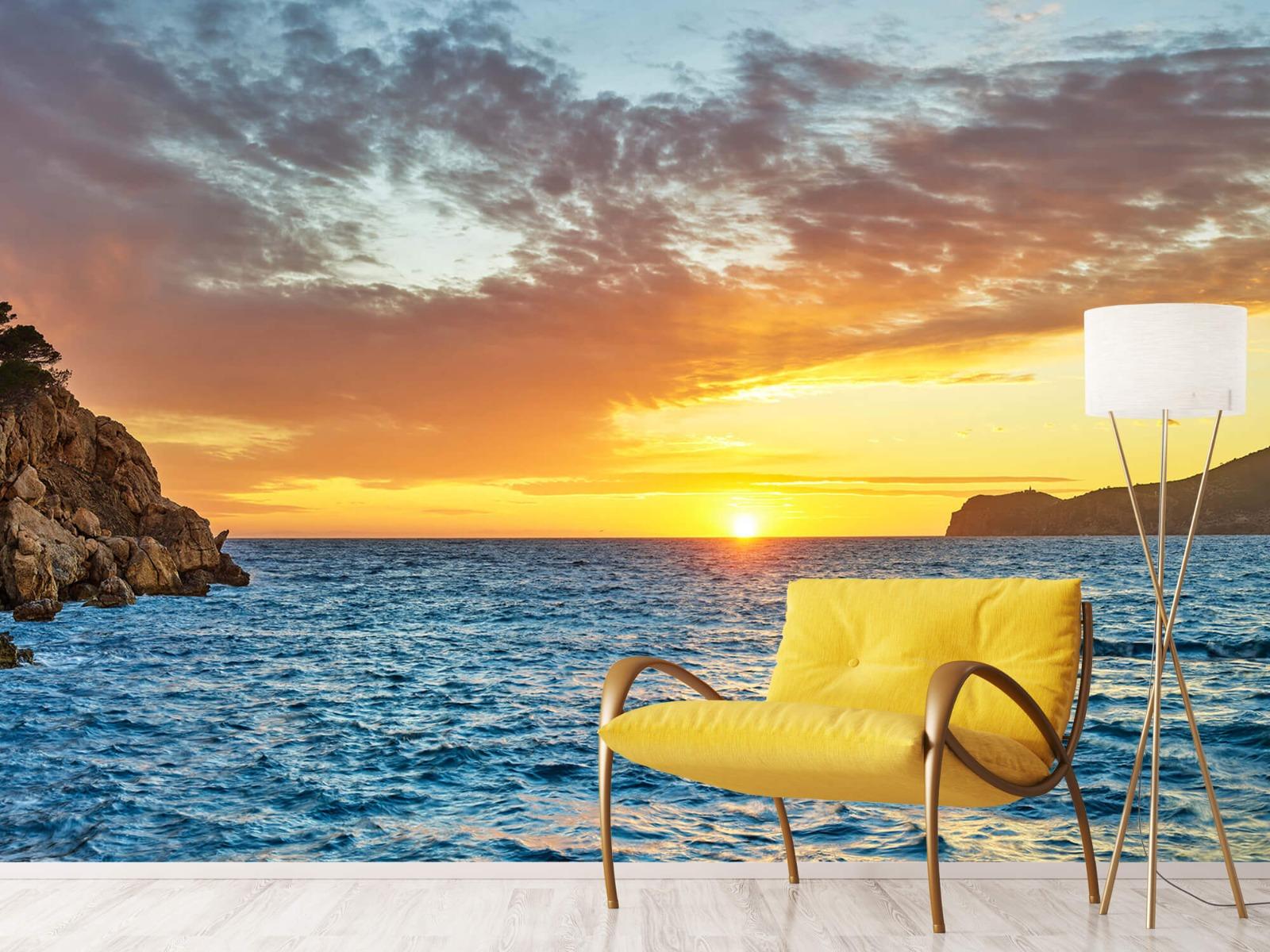 Zon - Zonsondergang op een eiland - Slaapkamer 10