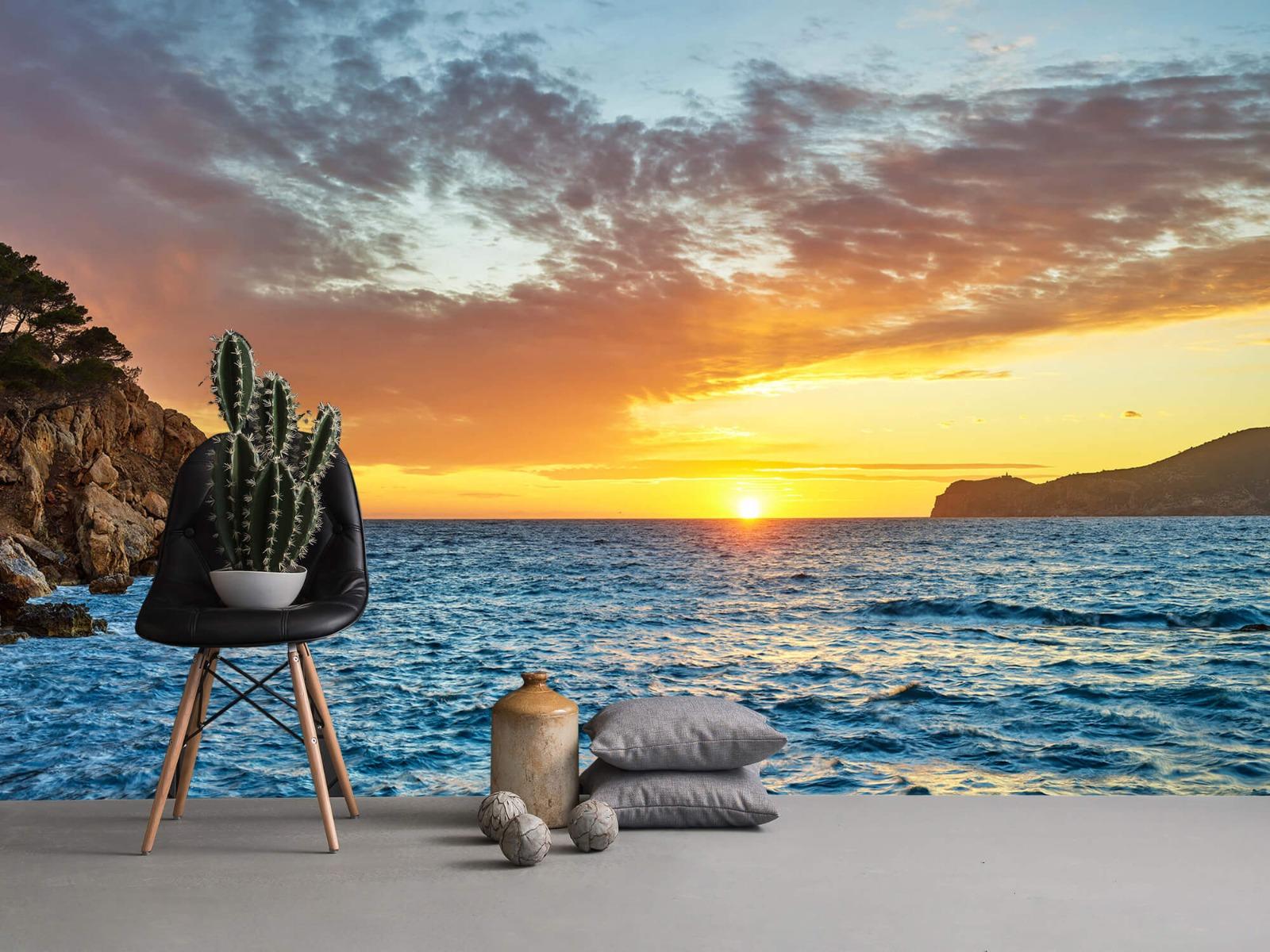 Zon - Zonsondergang op een eiland - Slaapkamer 13