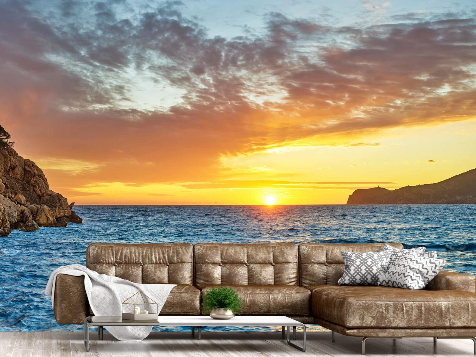 Zon - Zonsondergang op een eiland - Slaapkamer 14