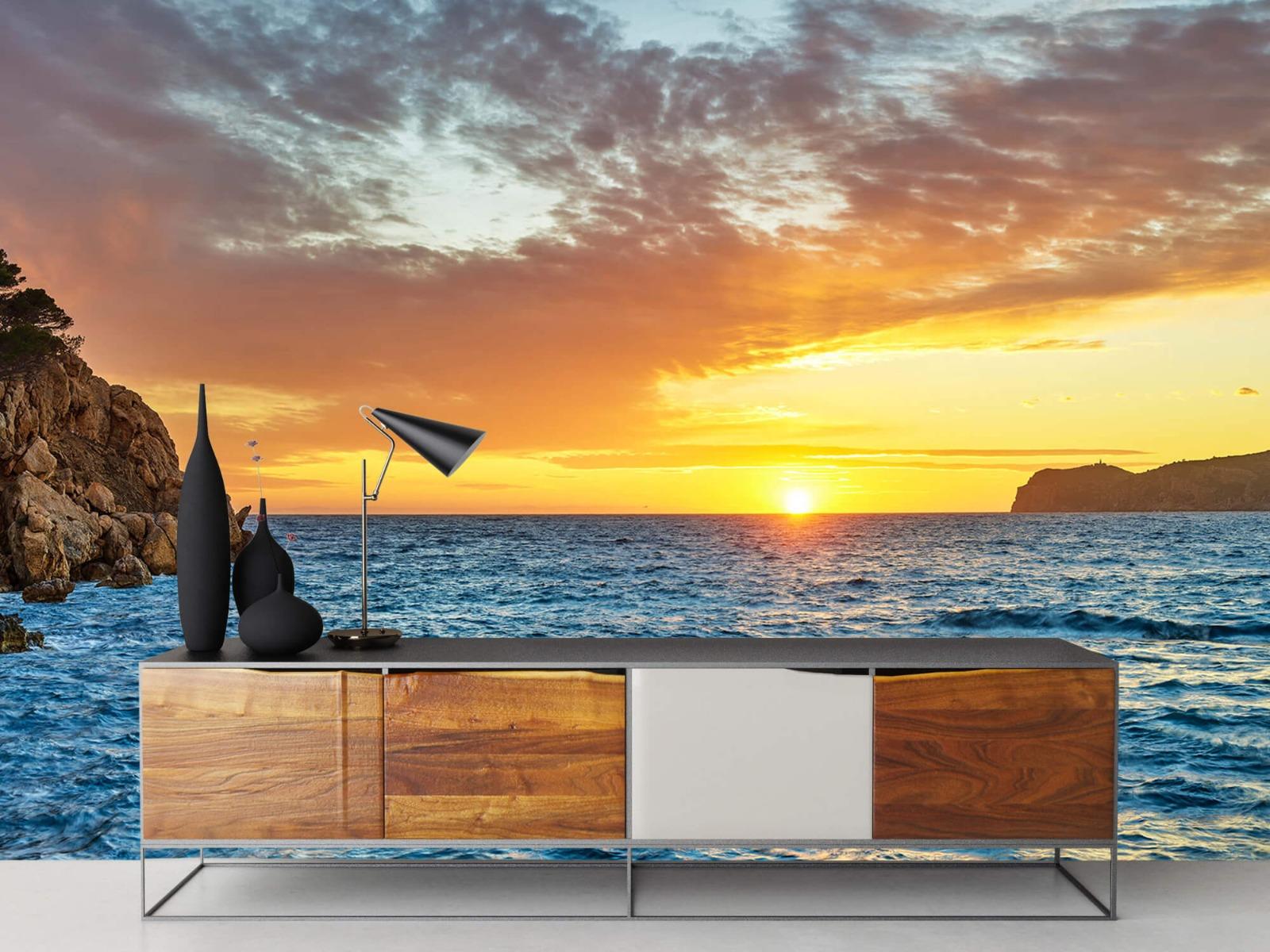 Zon - Zonsondergang op een eiland - Slaapkamer 16