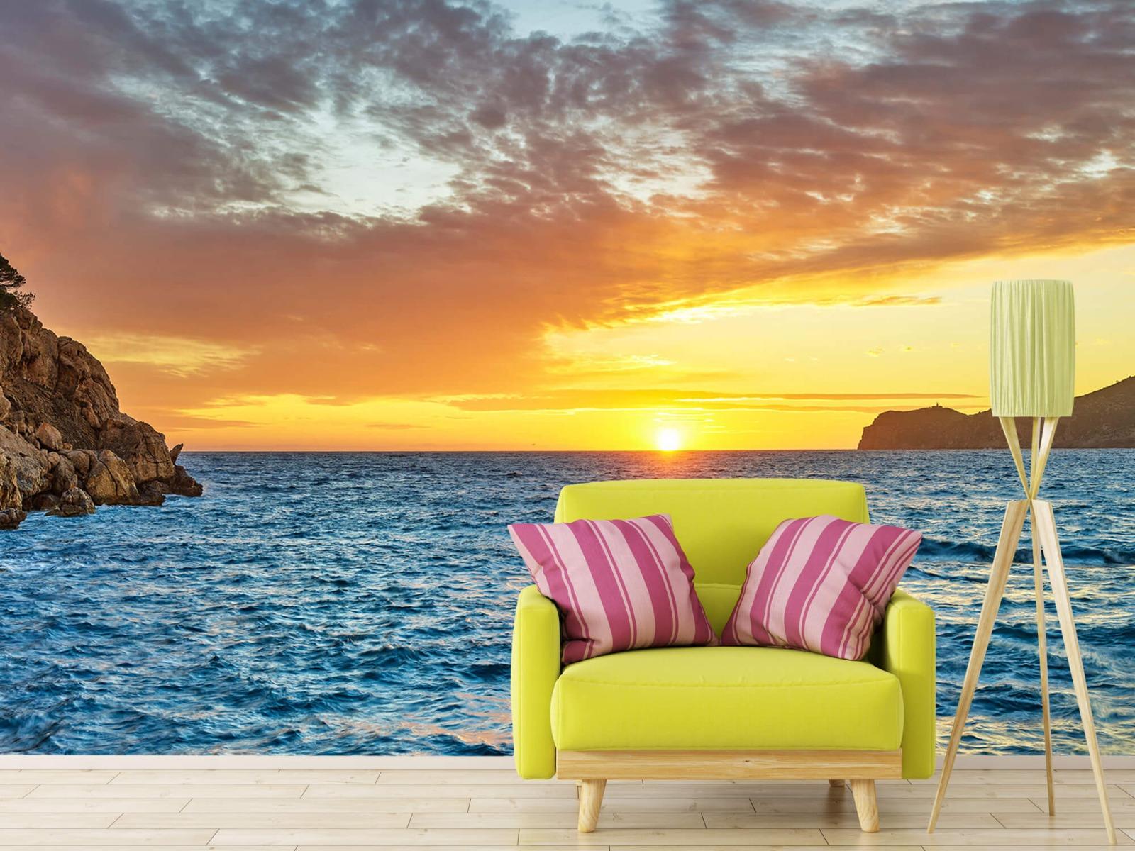 Zon - Zonsondergang op een eiland - Slaapkamer 17